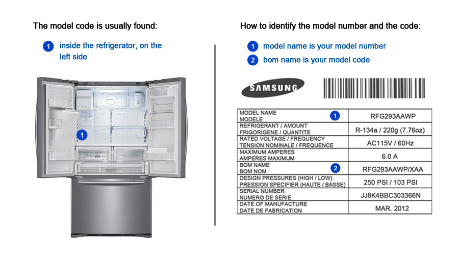 FRIDGE - Original Samsung Parts & Accessories and Products